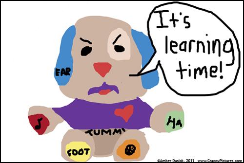 Amber's Annoying Talking Dog Toy